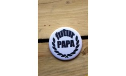 Grand badge 56 mm- Futur papa