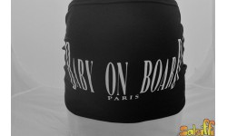 Bandeau grossesse Baby On Board Paris